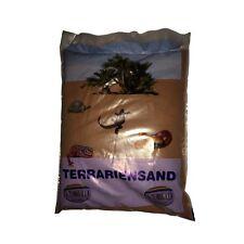 Terrariensand rot trocken 5kg - Terrarium Sand Bodengrund