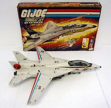 GI JOE SKYSTRIKER XP-14F Vintage Action Figure Vehicle Jet COMPLETE w/BOX 1983