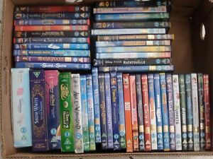 Bundle of 47 Original Disney DVDs Job Lot