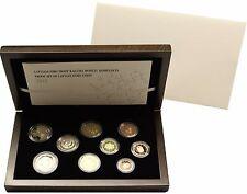 KMS Kursmünzensatz Lettland 2015  PP Proof incl Sondermünze Ratspräsidentschaft