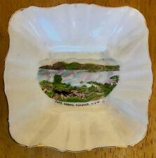 Vintage Art Deco Royal Stafford Bone China Souvenir Pin Dish Bowl - Forster NSW