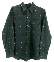 Rusty Mens Shirt Size S Long Sleeve Button Up Casual Surf