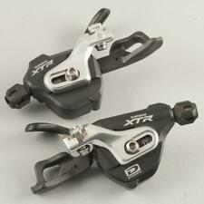 Used Shimano XTR SL-M980 Shift Levers Set 2/3x10 Speed I-Spec B Shifters