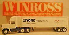Winross York 1988 International U S Olympic Team 1:64 Scale Tractor Trailer K