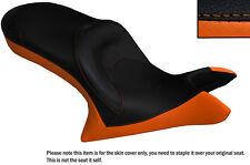 Naranja Y Negro Personalizado se adapta a Victoria Cross Country de doble piel cubierta de asiento