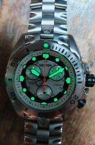 Montre Chronographe Sector 600 Titanium Verre Saphir