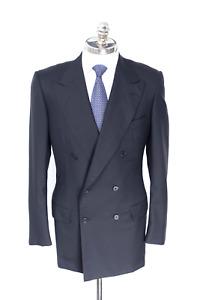 $4300 NWT STEFANO RICCI Black Super 150's Wool Sport Coat Jacket 40 L (EU 50)