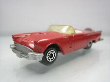 Diecast Matchbox 1957 Thunderbird 1982 Red Very Good Condition
