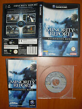 Minority Report - Everybody Runs, Nintendo GameCube & Wii, Pal-España ¡COMPLETO!