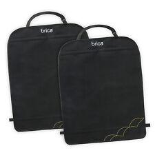 2-Pack Premium Waterproof Seat Back Protectors Utility Pocket Elastic Strap New
