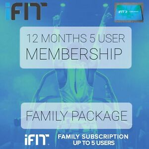 👉 1 Year FAMILY iFit Membership - 5 Users - Sent Free  - Sent Globally 🌍