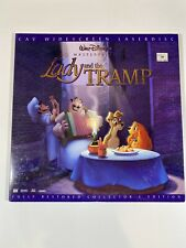 Lady and the Tramp Fully Restored Laserdisc Widescreen LD