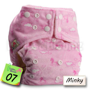 Baby Reusable Washable Pocket Nappy Adjustable Cloth Nappy Cover Wrap Bamboo