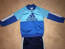 * Last 1 Boys ADIDAS Tracksuit 3 - 4 Years Zip Jacket/ Top & Bottoms Joggers New