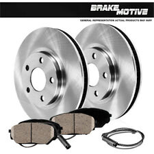 Front+Rear Drill Slot Brake Rotors Ceramic Pads For 2010-2013 BMW X5 xDrive35d