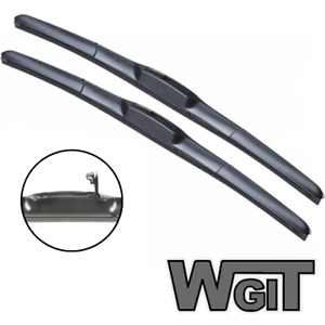 smart fortwo Wiper Blades Hybrid Aero For CABRIOLET 2004-2006 FRONT PAIR 2 xBL