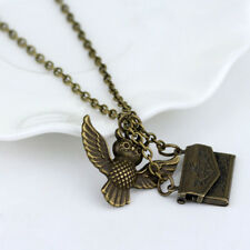 Harry Potter Hogwarts Acceptance Letter Post Delivery Owl Pendant Necklace New