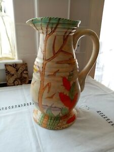 Vintage Large Beswick Art Deco Jug/Pitcher/Vase.
