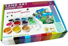 Sand Art for Boys, Kids Craft Kit - 20 Designs, Free Express Postage, Au Seller