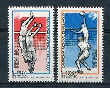 ITALIE 1978, timbres 1356/1357, SPORT, VOLLEY-BALL, Champinnats du monde neufs**