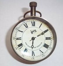 Pocket Watch The Eye of Time Round pocket watch Glass Front and Back