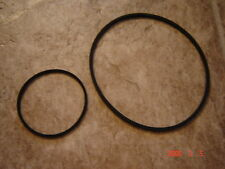Super 8,ELMO ST-100,St-100E Projector Belts, 2 Belt Set,FREE WORLD WIDE SHIPPING