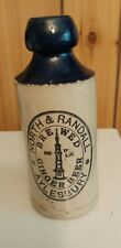 ANTIQUE NORTH & RANDALL AYLESBURY STONE  GINGER BEER BOTTLE
