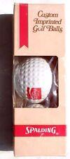 New Vtg 1974 Coca Cola Soda Pop Advertising Golf Balls - NOS