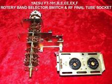 YAESU FT-101/B/E/EE/EX,F SERIES  BAND SELECTOR SWITCH & RF FINAL TUBE SOCKET