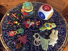 Huge Lot Baby Toys, Lowest Price, Infantino, Manhattan Skwish, Fisher Price Etc.