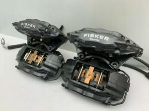Genuine Fisker Karma Brembo Calipers rear air bag steering generator compressor