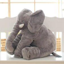 Jouet Elephant Poupee Bebe Peluche Doudou Coussin Geant Oreiller Doux Hiver