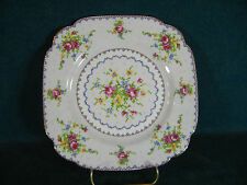 "Royal Albert Petit Point 7 3/4"" Square Salad Plate(s)"