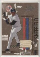 2004 Donruss Leather & Lumber Materials Bat /100 Gary Sheffield #98