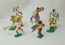 1960's TIMPO 'Swoppet' Mounted/Standing Crusader Knights Set of 5 Different