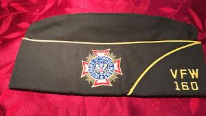 Vintage MarylandVeterans of Foreign Wars Military Hat 160 size 71/8 memorabilia