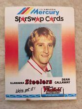 DEAN CALLAWAY 90s Illawarra Steelers Mercury Star Swap Westfield Nrl Card