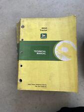 John Deere Tech Manual For 8850 Tractor