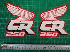 88' 1988 CR250 dirtbike decals stickers shroud CR 250 CR250R 250R AHRMA Elsinore