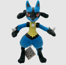 More details for large 30cm ban presto official lucario pokemon collectable plush toy uk stock