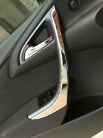 Vauxhall Opel Astra J Chrome Interior Door Handle Frame 2009 Up 2 pcs S.Steel