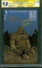 Batman 2 Dark Knight III CGC 4XSS 9.8 Frank Miller Collection Capullo 16 Variant
