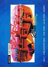DESTINY THE CREAM Rave Flyer Flyers 25/9/93 A4 Oscars The Pier Clacton Essex