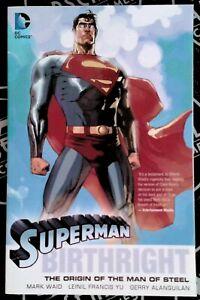 Superman Birthright TPB 2005 DC Comics Mark Waid Francis Yu Luthor Brainiac