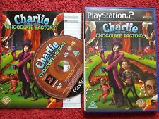 Charlie and the Chocolate Factory Original Black Label SONY 2 PS2 PAL