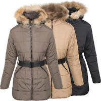 Damen Winter Jacke Steppjacke Parka Mantel Kapuze Winterjacke warm NEU SK-3703