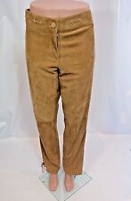 LUCA LUCA Light Brown Leather Pant Sz 10