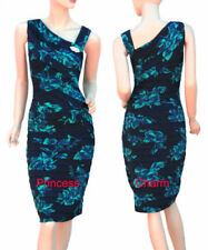 Stretch Floral Regular Size Dresses for Women
