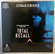 Total Recall Laserdisc LD ID7779IV Arnold Schwarzenegger