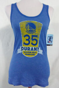 Golden State Warriors Kevin Durant Ladies Large Tank Top Blue NBA New FINALS MVP